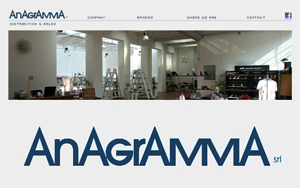 ANAGRAMMA SRL - website on line