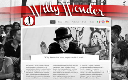 WILLY WONDER - website on line