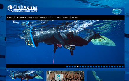 Club Apnea - website on line
